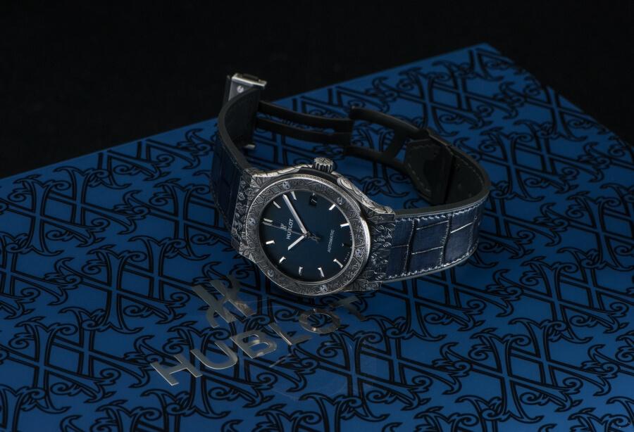 Hublot Classic Fusion Fuente Limited Edition Blue