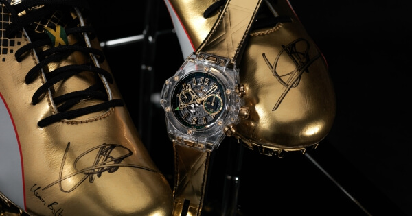 Usain Bolt joins Hublot at SIAR Mexico