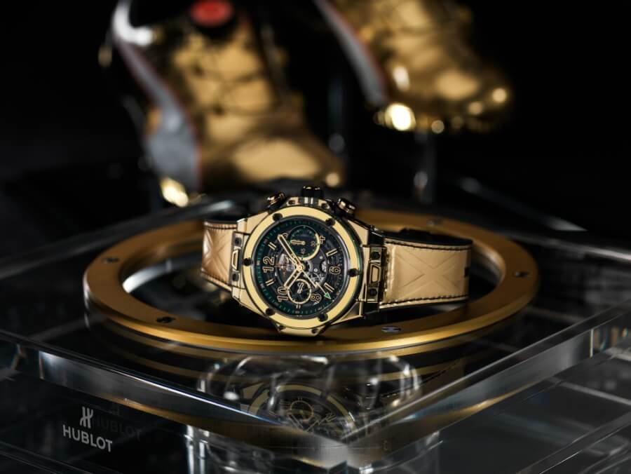 Hublot Gold Chronograph