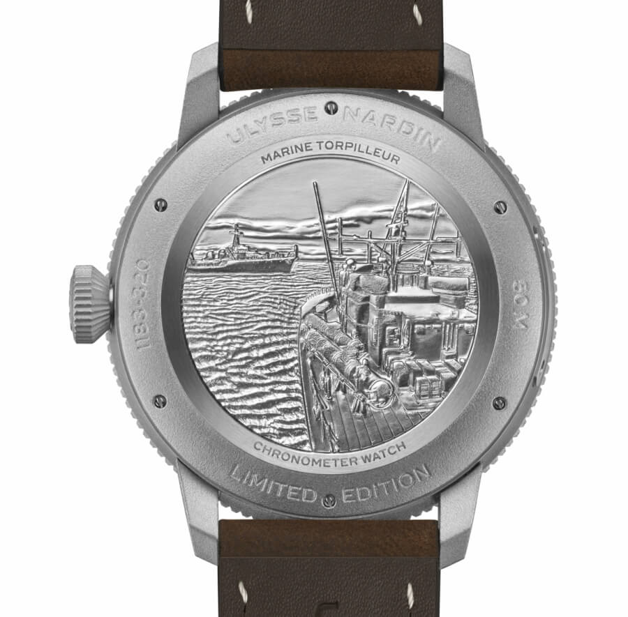 Ulysse Nardin  Marine Caseback