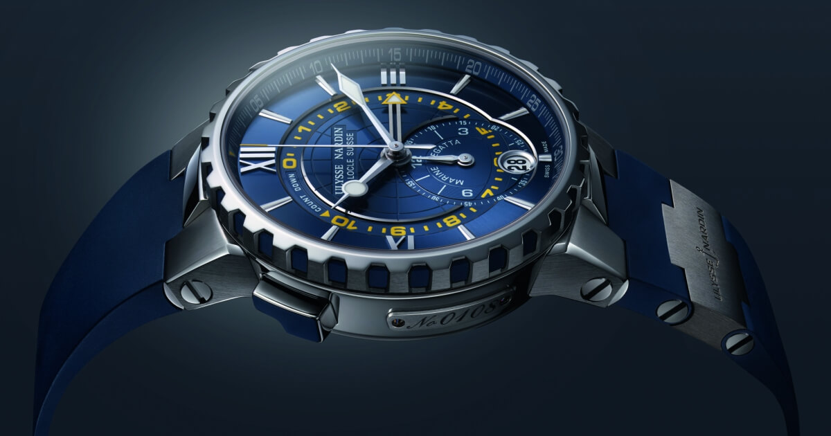 Ulysse Nardin won the Sport Watch Prize at the Grand Prix  d'Horlogerie in Geneva with the Marine Regatta