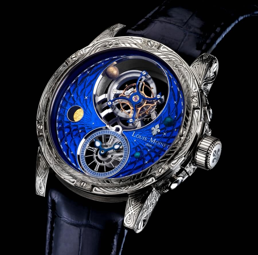 Louis Moinet Space Mystery Watch Review