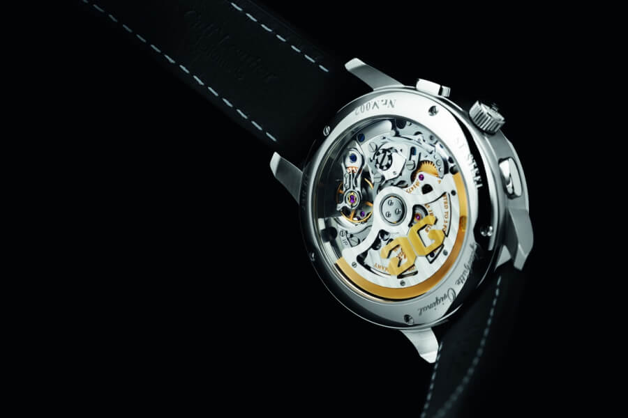 ‍Glashutte Chronograph Movement