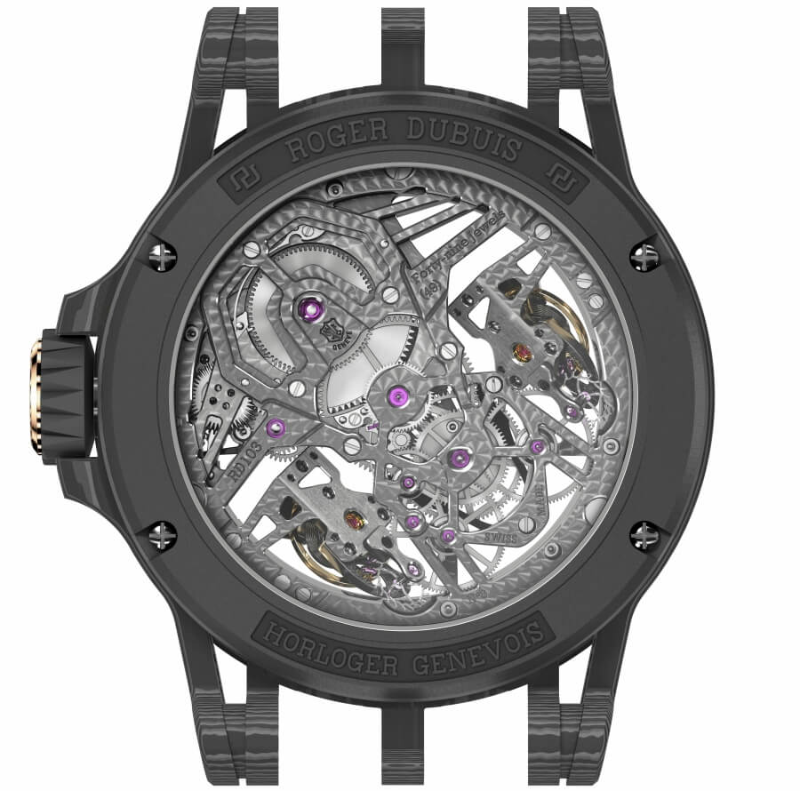 Roger Dubuis In House Movement