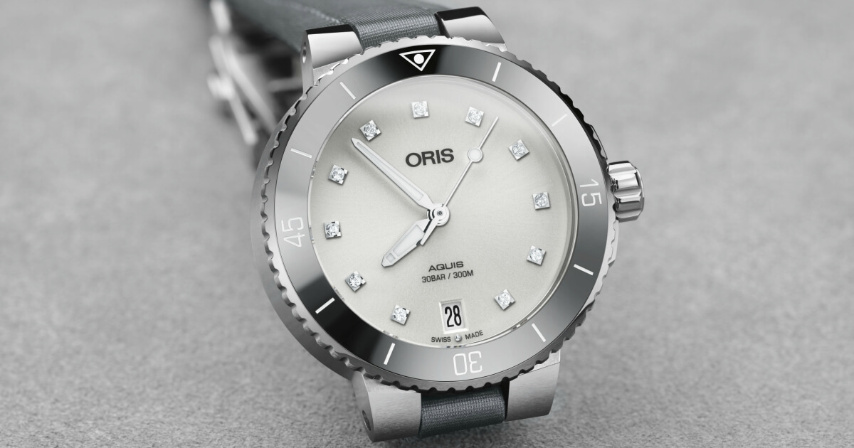 The New Oris Aquis Date And Aquis Date Diamonds