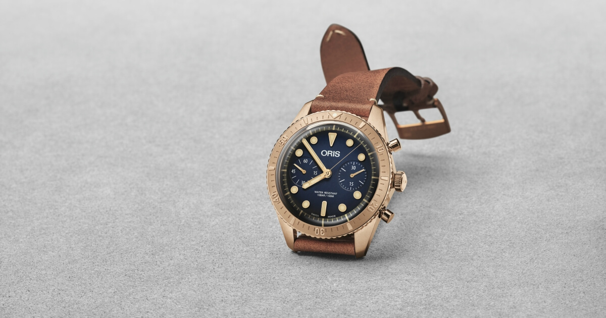 Introducing The New Oris Carl Brashear Chronograph Limited Edition