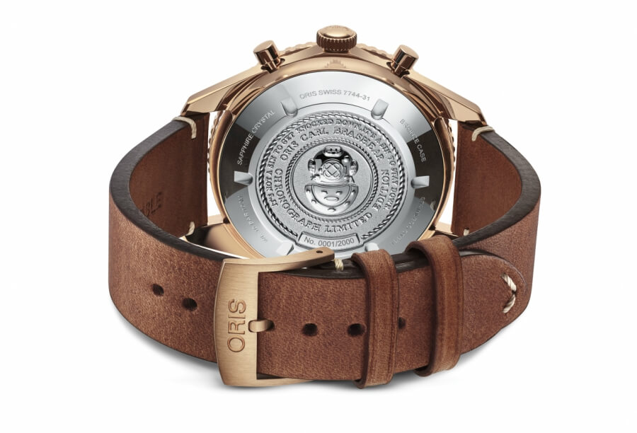 Oris Chronograph Bronze