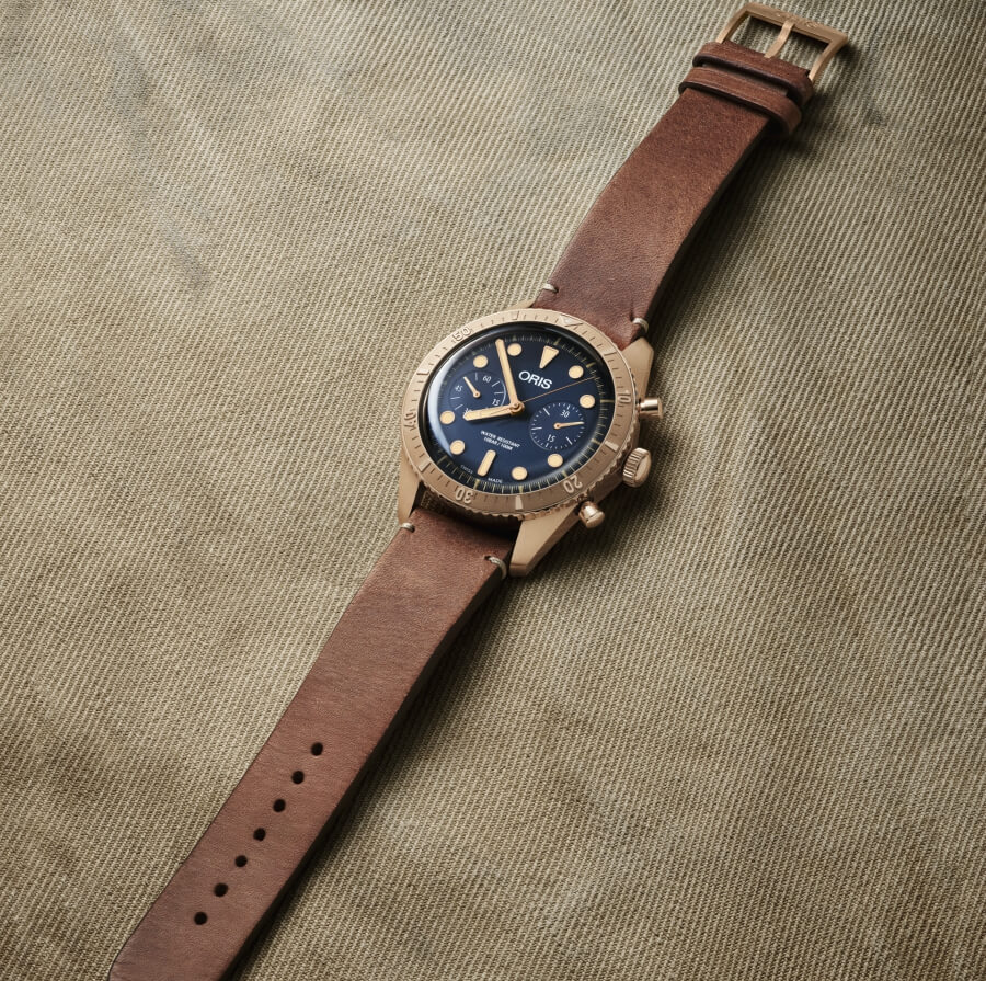 The Oris Carl Brashear Chronograph Limited Edition Watch Review
