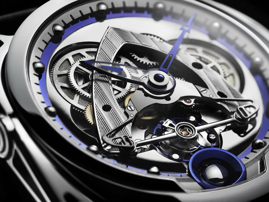 De Bethune DB28 Steel Wheels Movement