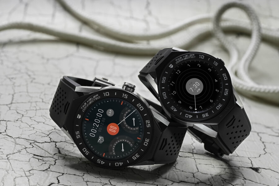 TAG Heuer Connected Modular 41 vs 45