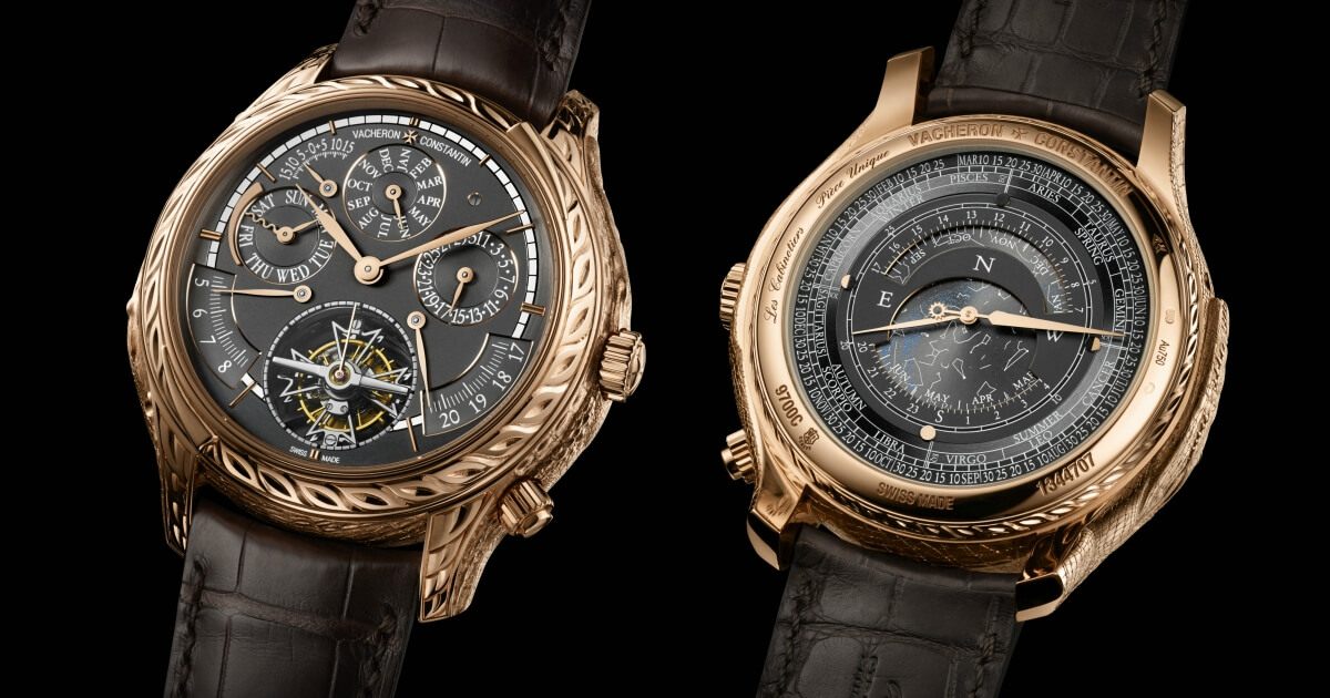 "Introducing The Vacheron Constantin Les Cabinotiers Grande Complication ""Ornementale"" And Les Cabinotiers Grande Complication ""Crocodile"""