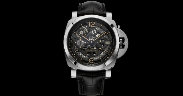 Panerai L'Astronomo - Luminor 1950 Tourbillon Moon Phases Equation of Time GMT