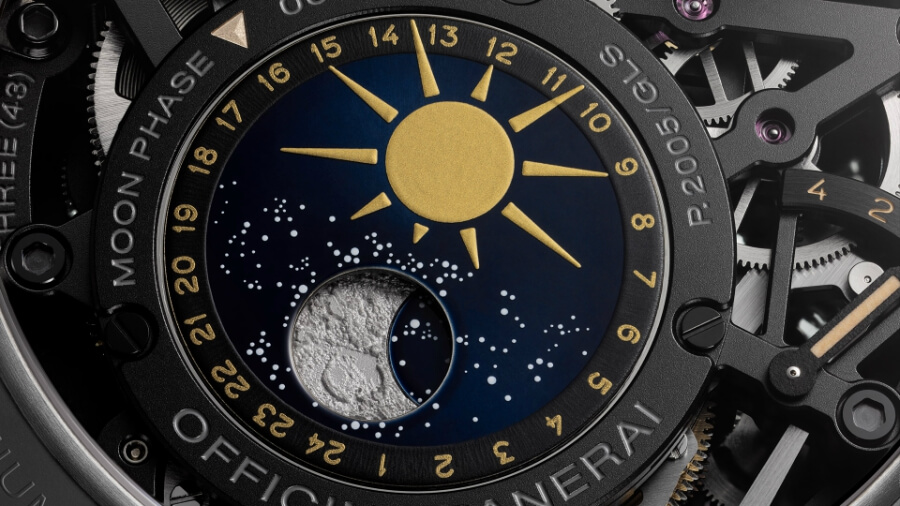Panerai Moon Phase Indicator