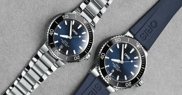 Introducing The New Oris Aquis Date, Now Available In A 39,5mm Case