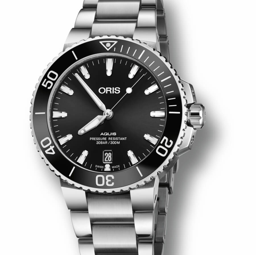 The New Oris Aquis Date 39,5mm