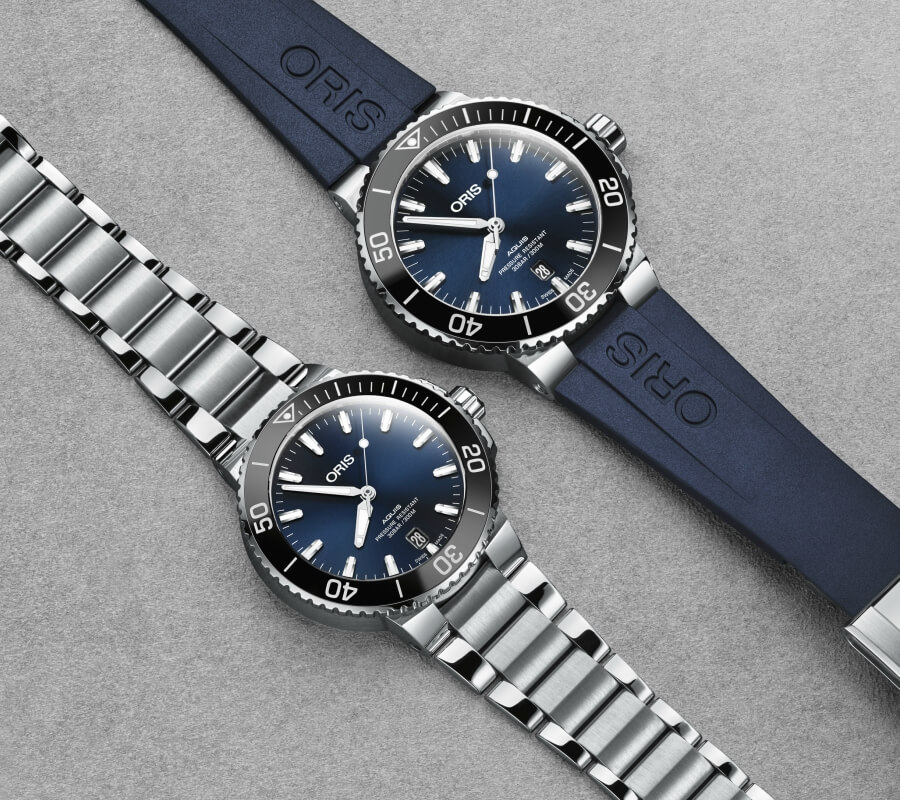 Oris Aquis Date vs the new model