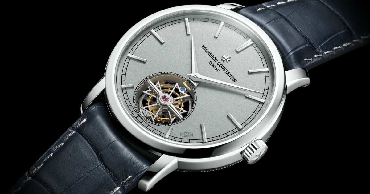 SIHH 2018: Vacheron Constantin Traditionnelle Tourbillon