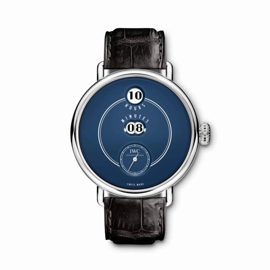 IWC Blue Dial