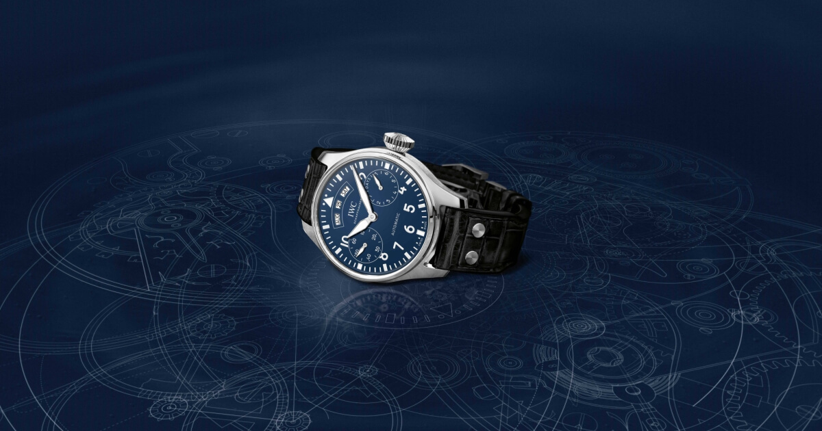 IWC Launches Pilot's Watches With Lacquered Dials