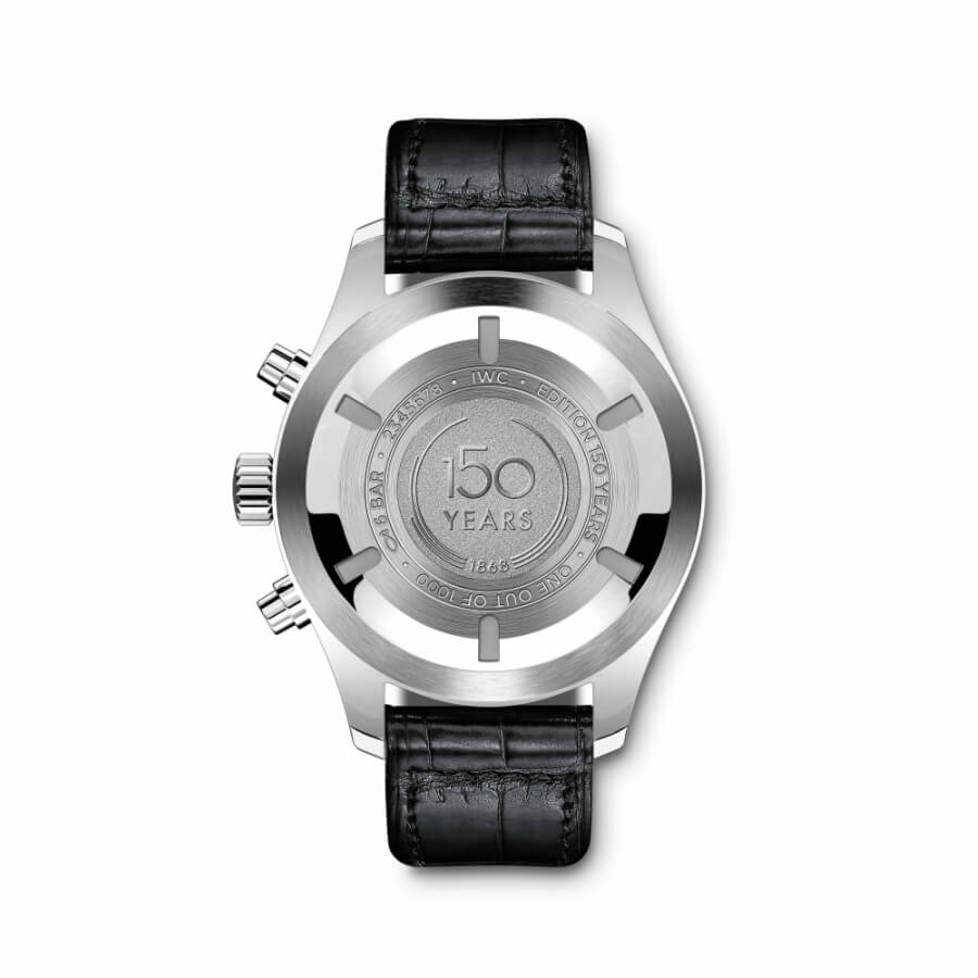 IWC Chronograph Case Back