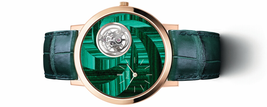Piaget Altiplano Malachite Marquetry Tourbillon - 41mm