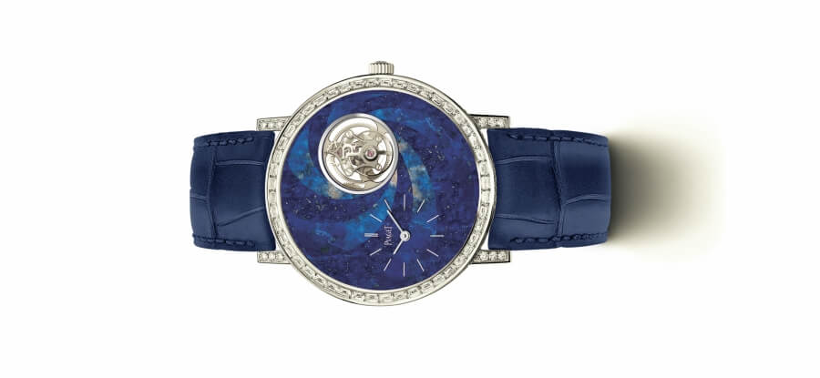 Piaget Blue Dial Diamond