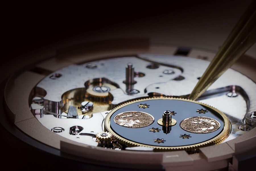 Jaquet Droz Movement