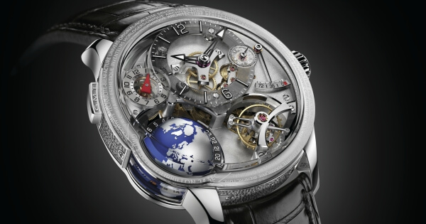 From SIHH 2018: Greubel Forsey Gmt Earth