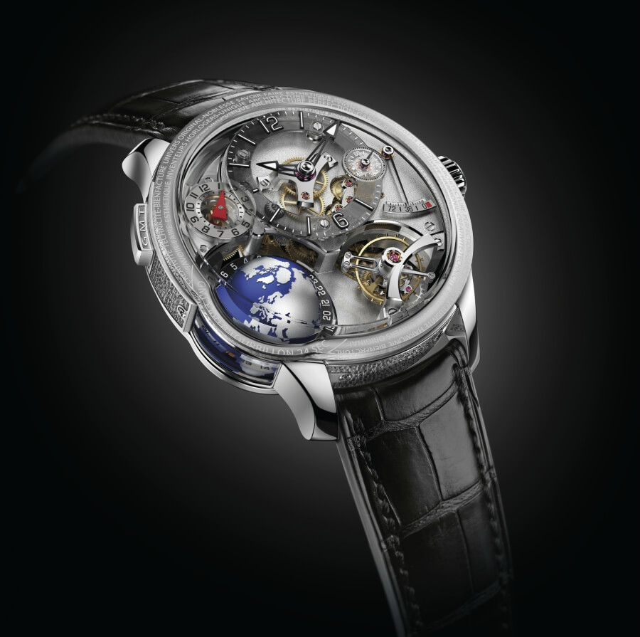 Greubel Forsey Gmt Earth Review