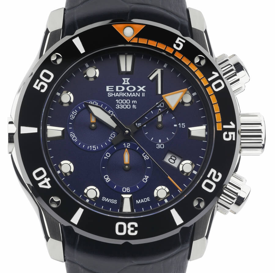 Edox Sharkman Chronograph