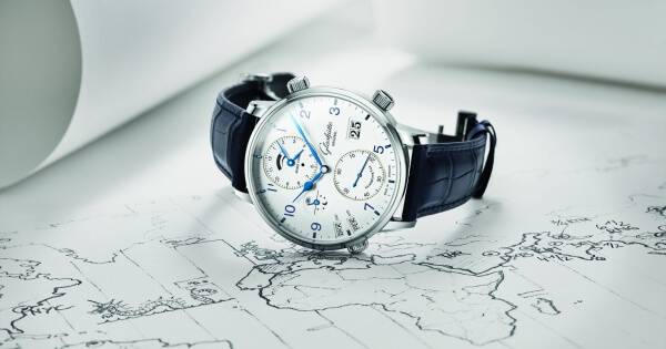 Glashütte Original - Preview Baselworld 2018 - Senator Cosmopolite In Stainless Steel