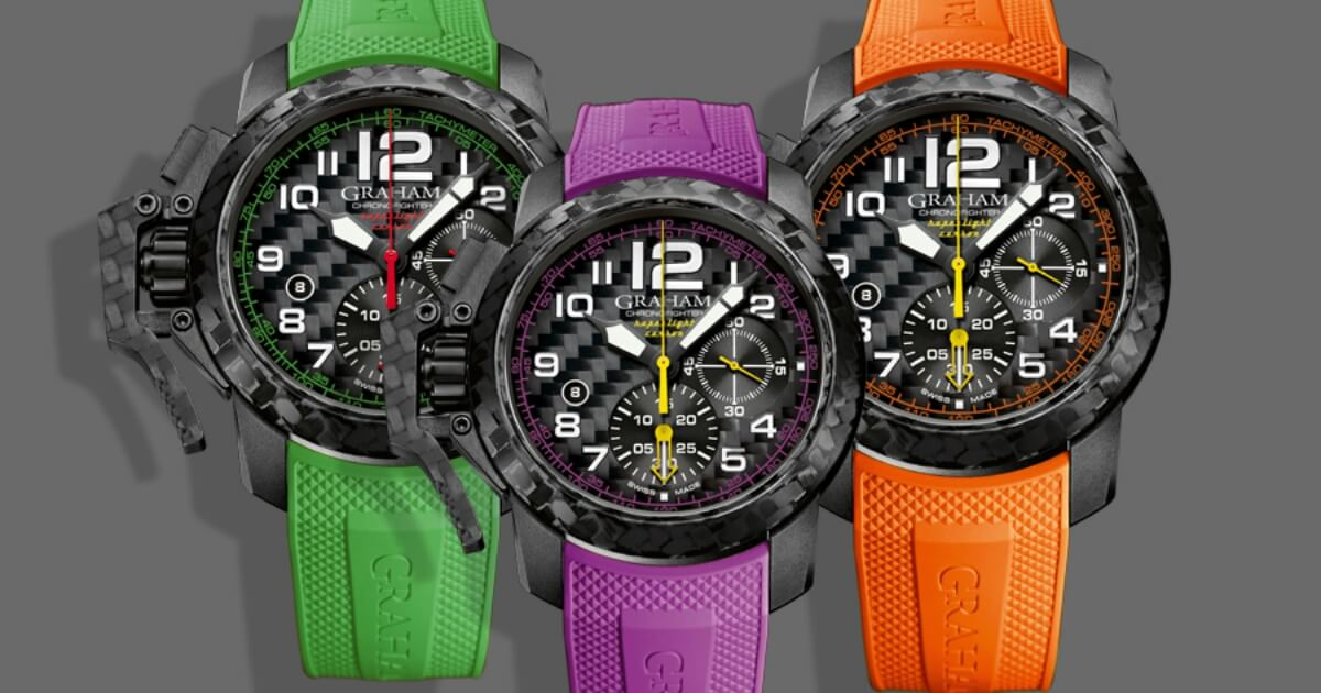 The New Graham Chronofighter Superlight Carbon