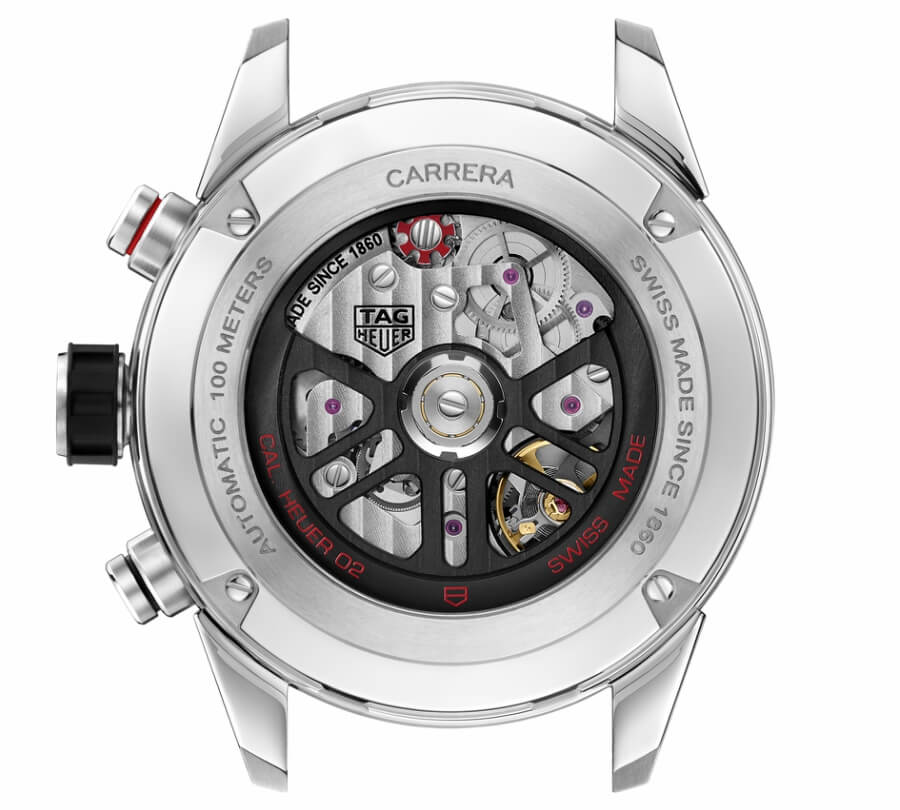 Tag Heuer Carrera Heuer 02 Movement