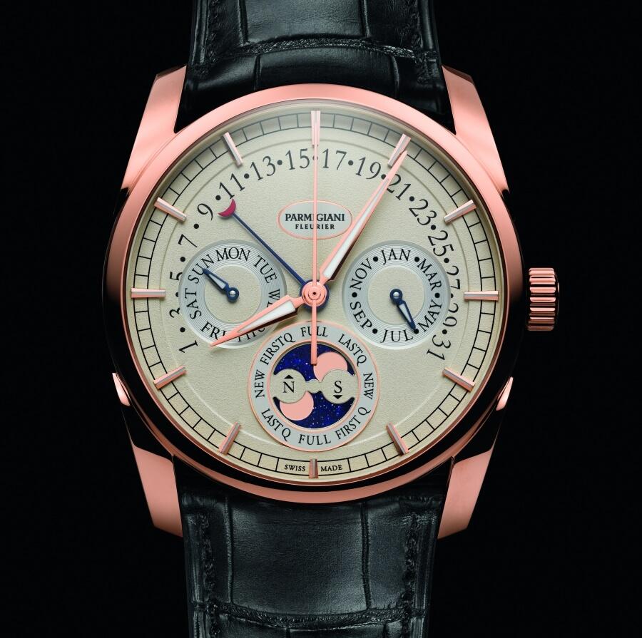 Parmigiani Tonda Annual Calendar Watch Review