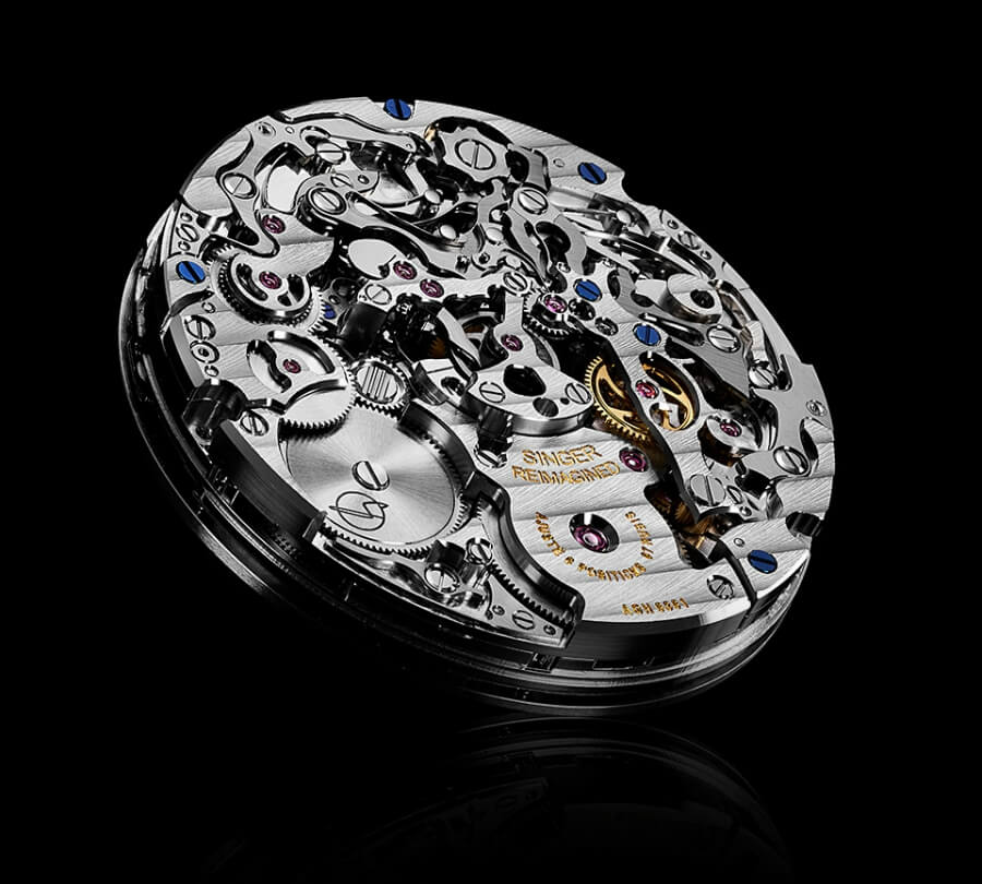 Singer Watch Movement