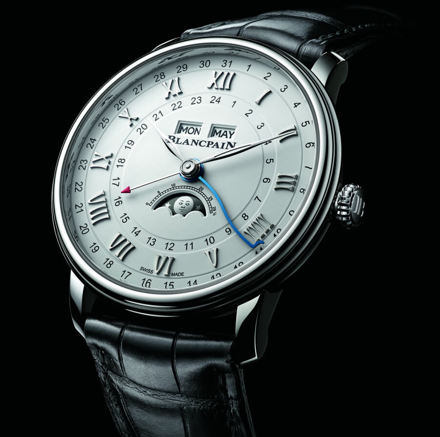 Blancpain Villeret Quantième Complet GMT