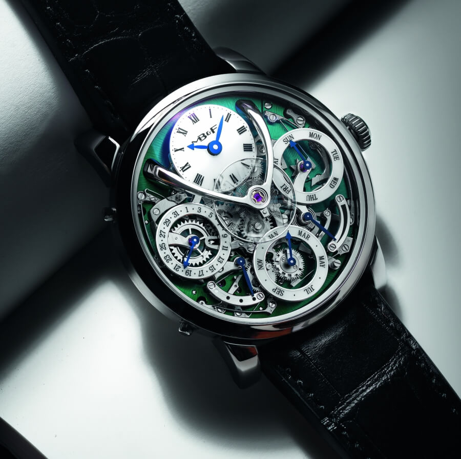 MB&F Legacy Machine Perpetual Titanium Review