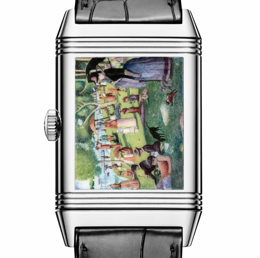 The New Jaeger-LeCoultre Reverso Tribute Enamel