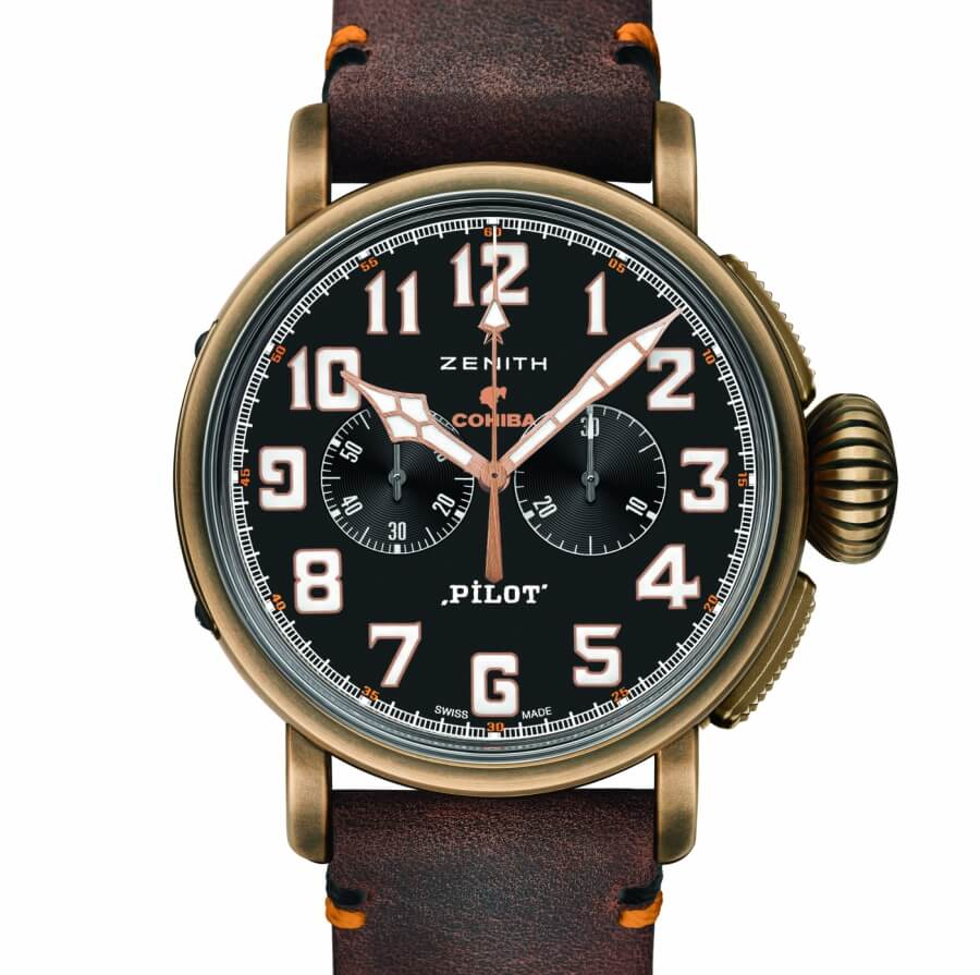 The New Zenith Pilot Type 20 Extra Special Chronograph Cohiba-Maduro 5 Edition