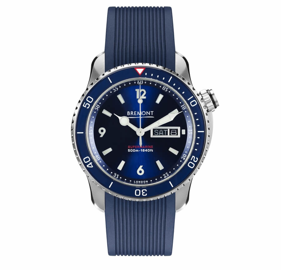 Dive Watch Blue Dial