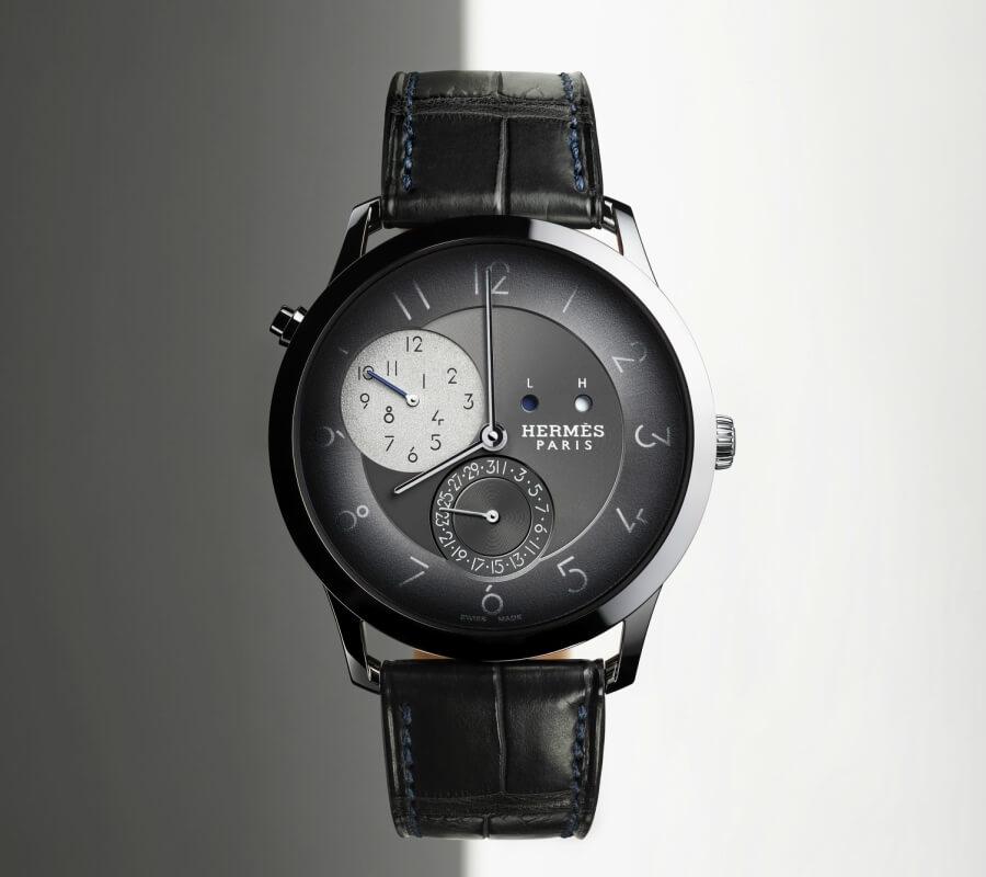 The New Hermes Slim d'Hermès GMT Watch Review