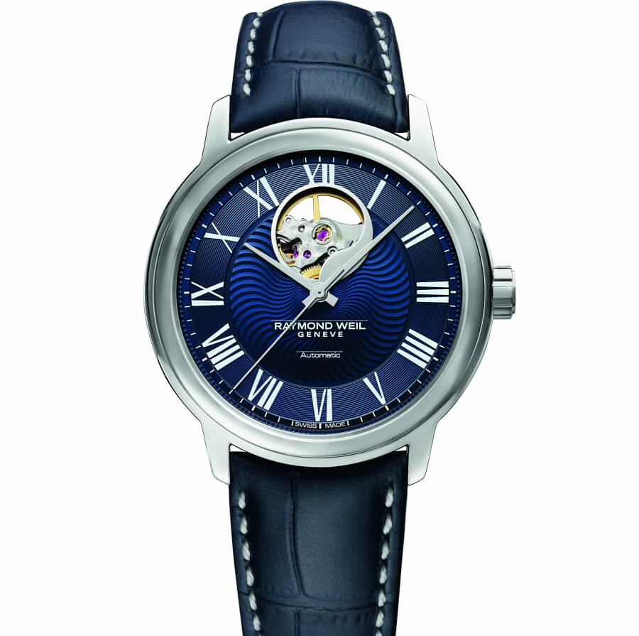 The New Raymond Weil Maestro Blues