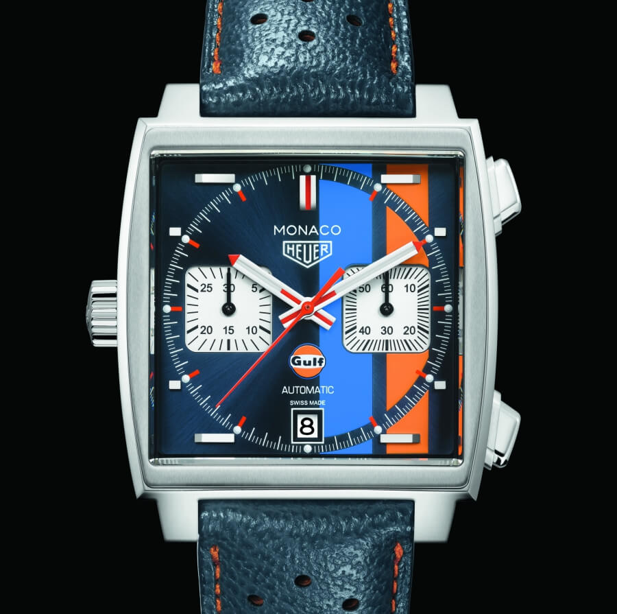 The New TAG Heuer Monaco Gulf 2018 Special Edition