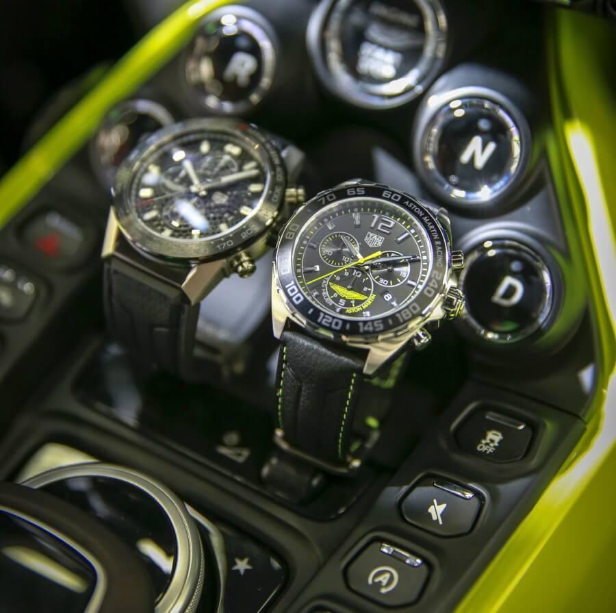 TAG Heuer Carrera Heuer 01 Aston Martin and TAG Heuer Formula 1 Aston Martin