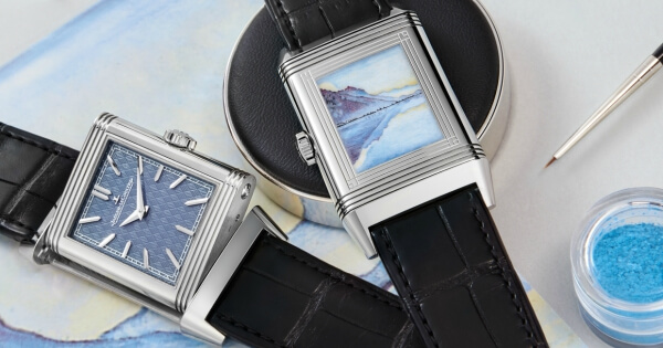 Jaeger-Lecoultre Celebrates The Work Of Ferdinand Hodler With Enamelled Reverso Watches