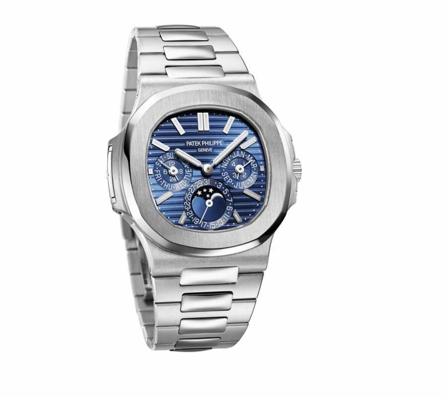 The New Patek Philippe Ref. 5740/1G-001 Nautilus With A Perpetual Calendar