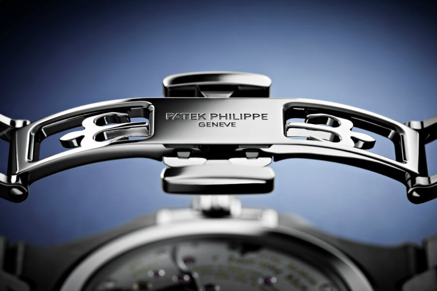 Patek Phillipe new patented fold-over clasps
