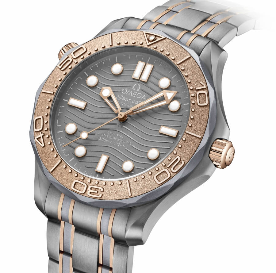 Introducing Omega Seamaster Diver 300M Titanium Tantalum Limited Edition