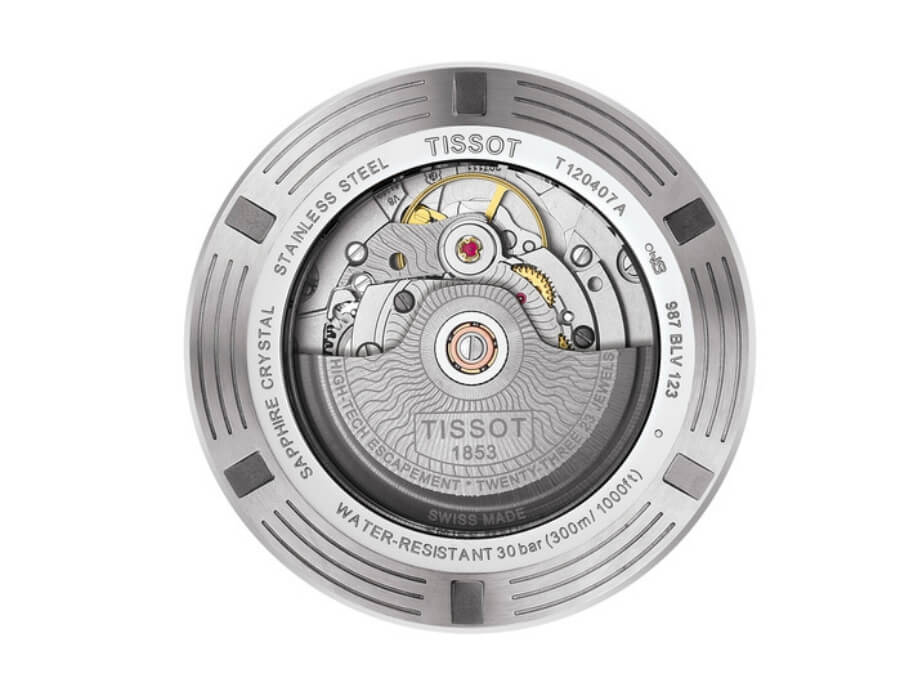 Tissot Powermatic 80 automatic movement