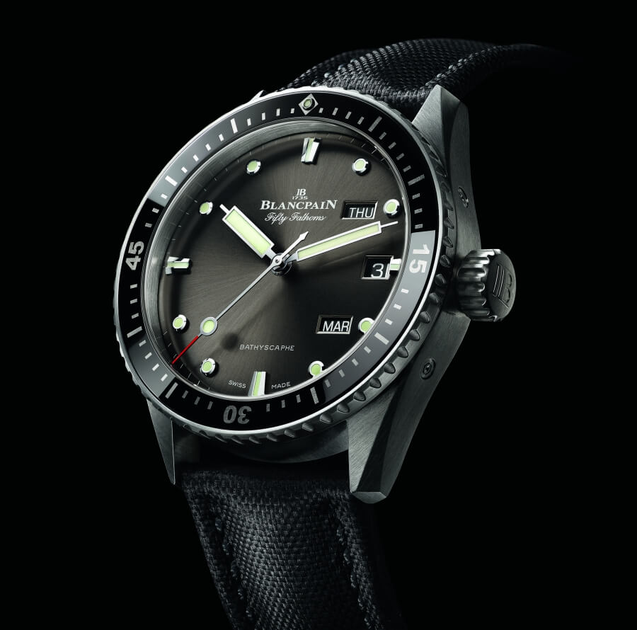 The New Blancpain Fifty Fathoms Bathyscaphe Quantième Annuel